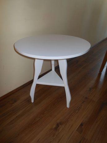 Stolik kawowy biały z półeczką inne kolory