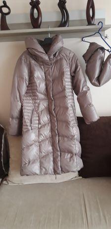 Płaszcz zimowy puchowy firmy Tattum ,40, kupiony w Camaeiu