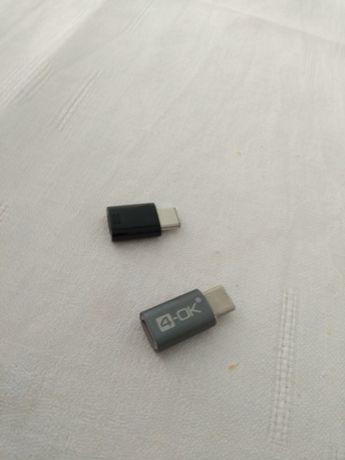 Adaptadores micro usb usb c