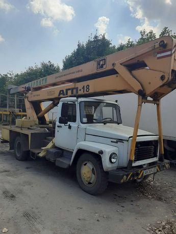 Уменьшение! Собственник Автовышку Локтевую АГП-18 на шасси ГАЗ 3309