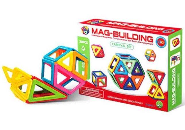Детский магнитный конструктор на 20 деталей