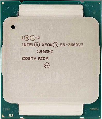 Процессор Intel Xeon E5-2680V3 12/24 2.5GHz 30M LGA2011V3 Количество!