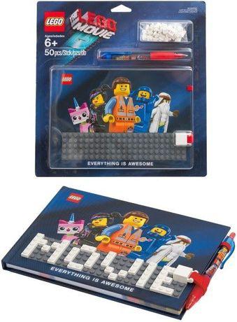Bloco de notas LEGO the lego movie Com Caneta - Novo e Fechado