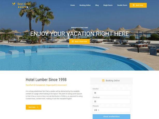 Сайт по туризму/ для отеля