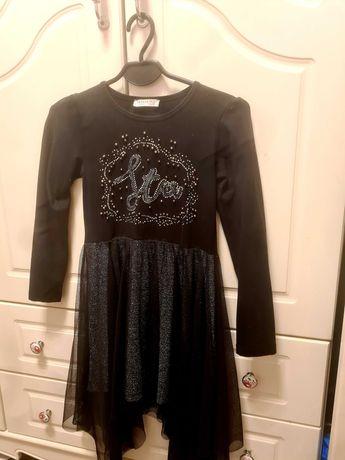 Sukienka tiul! Cekiny, mieniąca się. 134