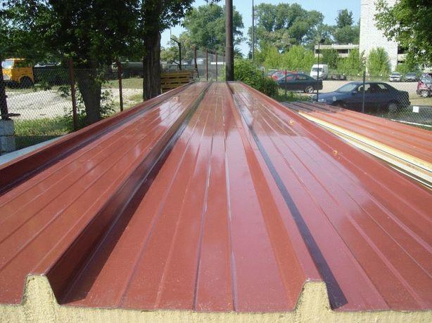 Płyty warstwowe płyta warstwowa poliuretanowa dachowa PIR