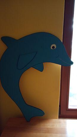 Delfin dekor do pokoju dziennego
