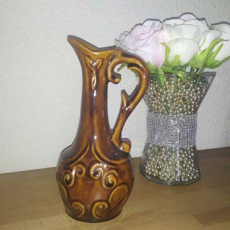 Stylowy piękny wazon  PRL