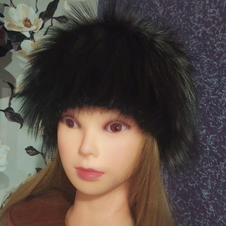 Продам женскую песцовую шапку