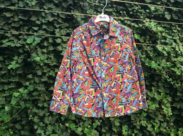 Брендовая (оригинал) рубашка для мальчика, р.104