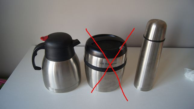 termos para manter liquidos/sopa quentes