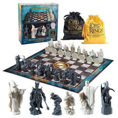Xadrez Senhor dos Anéis - The Noble Collection