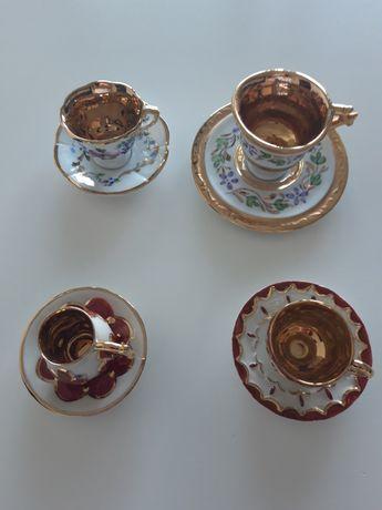 4 Chávenas miniatura de coleção