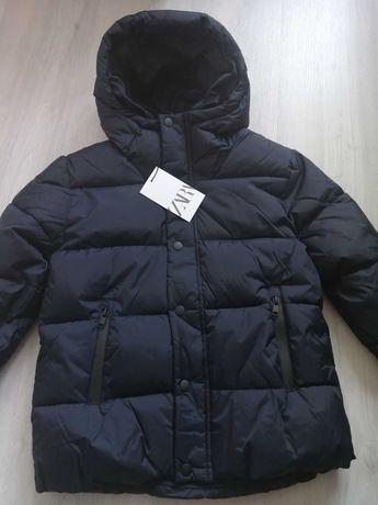 Фирменная демисезонная куртка ZARA р.134 осенняя куртка Зара