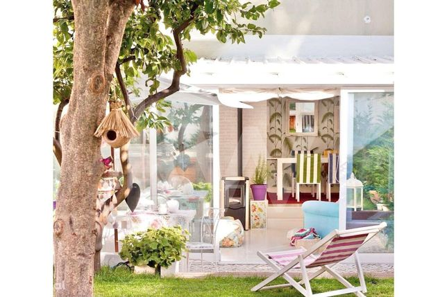 Apartamento  T1,remodelado, com jardim  no Bairro de Arroios