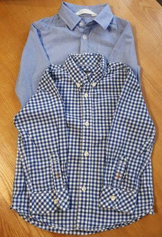 Рубашки на мальчика 2-4 года H&M
