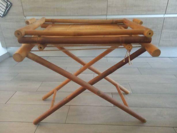 Mesa de apoio bambu
