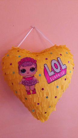 Piniata urodzinowa Lol serce