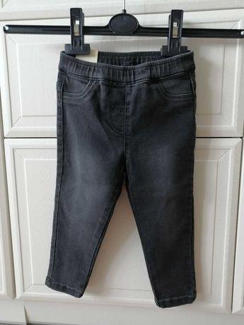 Джинсы черные, штаны для девочки