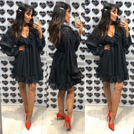 Lola Fashion nowa sukienka w groszki
