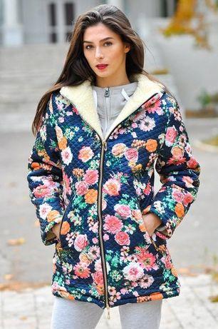 Продам классную новую куртку с принтом