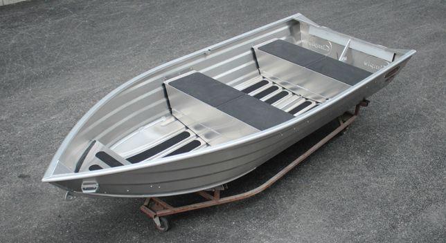 Aluminiowa łódź wędkarska 370.