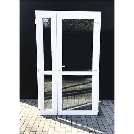 Drzwi PCV 180x210cm NOWE PVC biurowe białe