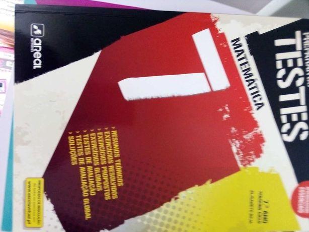 Livros de testes 6º e 7º Matemática e físico- Química 10€ cada