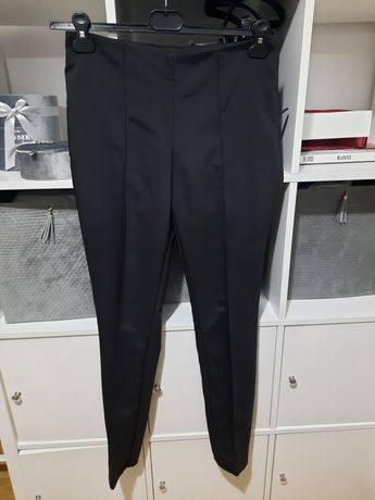 Spodnie cygarerki mohito czarne 36