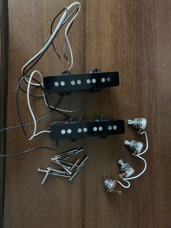 Звукознімачі Jazz Bass japan + потенціометри