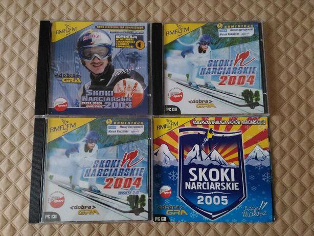 Skoki Narciarskie 2003, 2004, 2004 - wersja 2.0, 2005 PL 4CD