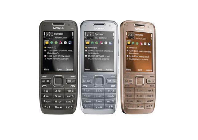 NOWA Nokia E52 GSM smartfonów WIFI Bluetooth GPS 3.2MP Czarna, Srebrna