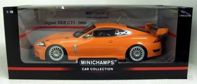 Miniatura 1:18 Jaguar XKR GT3 - Minichamps