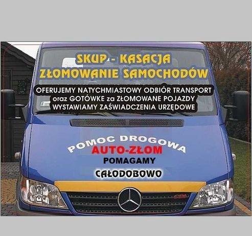 Auto-skup auto-złom Rybnik Wodzisław Rydułtowy Pszów Radlin Racibórz