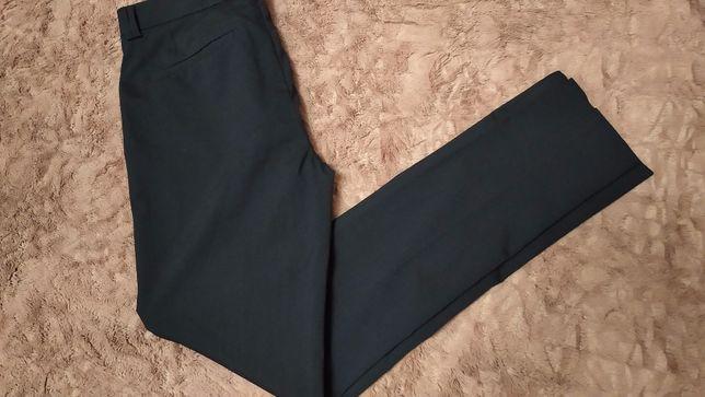 Классические мужские брюки цв. синий River Island р.32 , длина 107 см