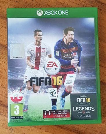 gra na xbox one. FIFA 16