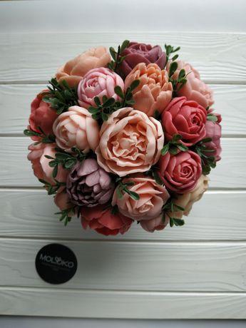 Мыло подарок цветы букет подарок учителю на 1 сентября
