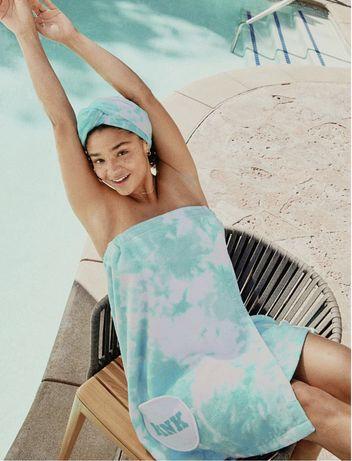 Платье- полотенце victoria secret s-xl виктория секрет парео купальник