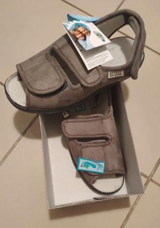 Sandały ortopedyczne damskie Dr Orto - 676D006