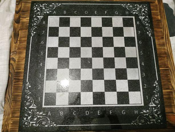 Шахматная доска гранит
