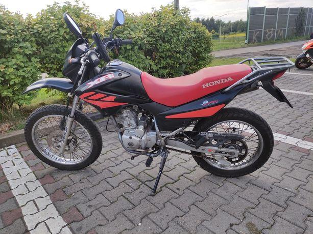 Honda XR125L 2006r. + akcesoria