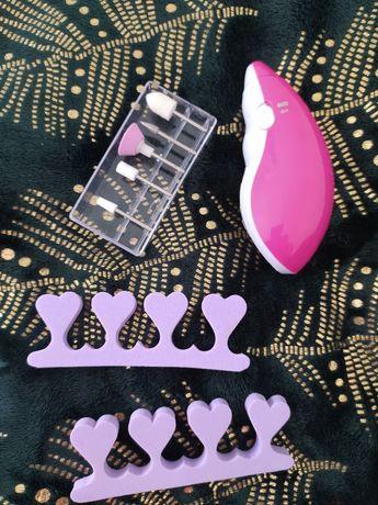 Elektryczny pilnik do paznokci + końcówki