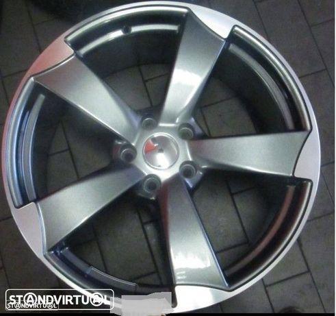 Jantes 17 Novas RS3 Antracite Polidas novo modelo et35 e 45 c/pneus