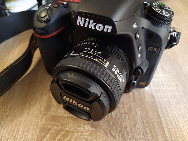 Obiektyw Nikon AF Nikkor 50 1.4d 1.4 D, 600 zdjęć, 1,5roku gwarancji