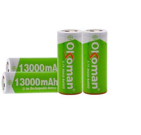 Ogniwo Akumulator OKOMAN 26650 poj.13000 mAh ! 3.7 v , NOWE !