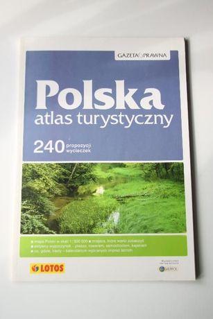 Polska Atlas Turystyczny 240 propozycji Wycieczek