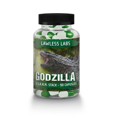 Lewless Labs Godzilla Sarm Stack 90caps+GRATIS