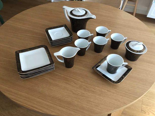 Serwis do herbaty 6 os | Porcelana Bogucice Evolution | prezent ślubny