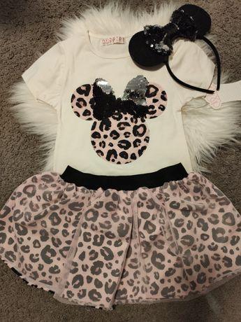 Bluzka i spódniczka Myszka Miki