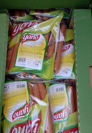 Сосиски яно ціна за упаковку 55 гривень